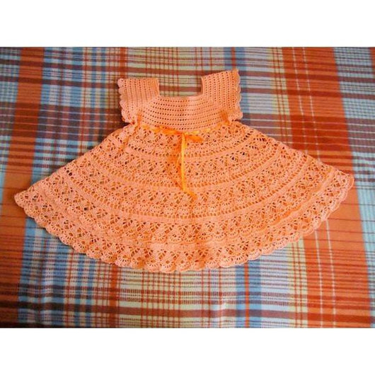 Handmade newborn crochet summer girls dress, Different sizes, pink baby girl dress, summer girl dress - made to order - AsDidy fashion