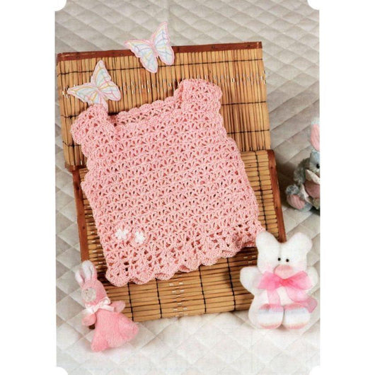 Newborn Baby Crochet Top - Made to order - Crochet clothes