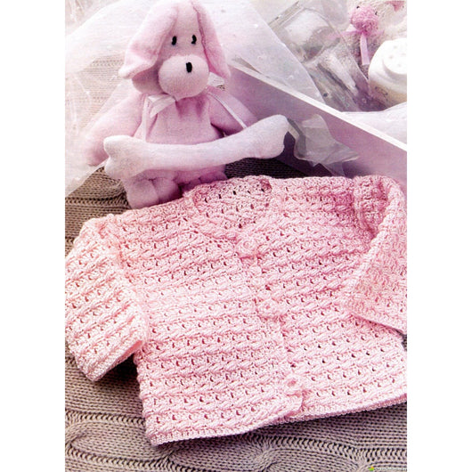 Crochet baby jacket - AsDidy fashion