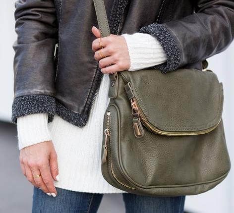 Crossbody Style Leather Handbags