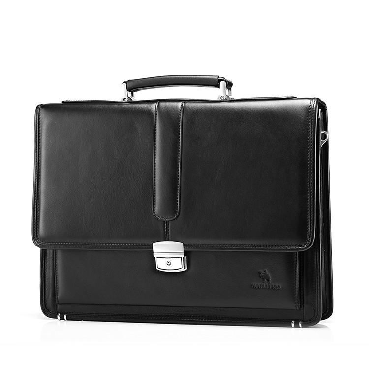 Mens Leather Vintage Formal Business Briefcase - URBAN LEGEND LEATHER