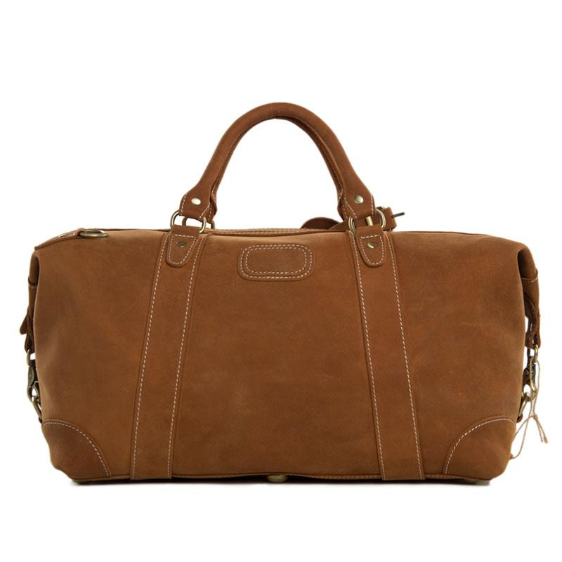 Leather Overnight Travel Bag - URBAN LEGEND LEATHER