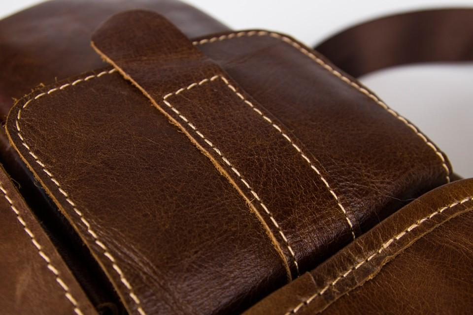 Men's Small Messenger Bag & Ipad Carrier - URBAN LEGEND LEATHER