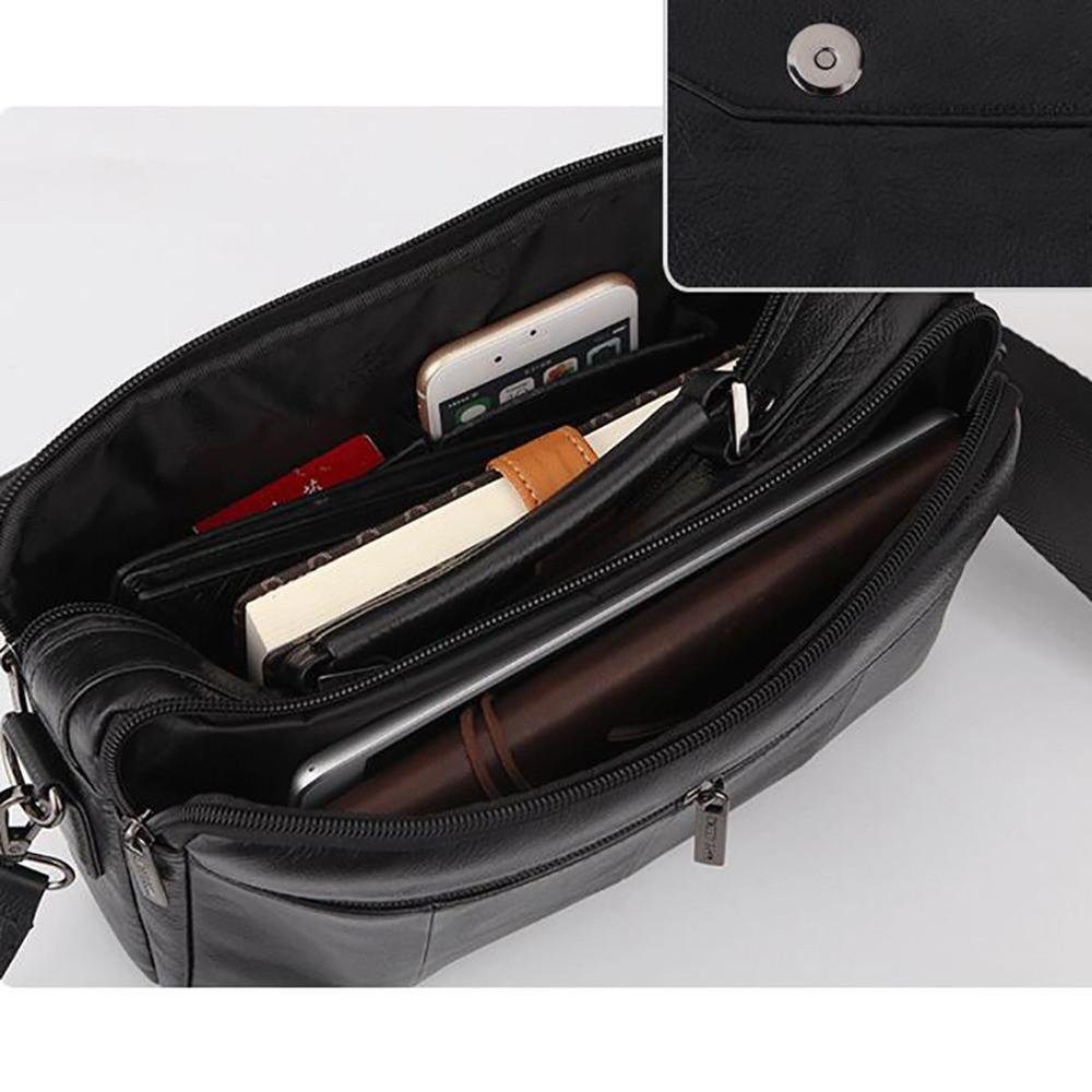 Mens Leather Crossbody Carrier - URBAN LEGEND LEATHER