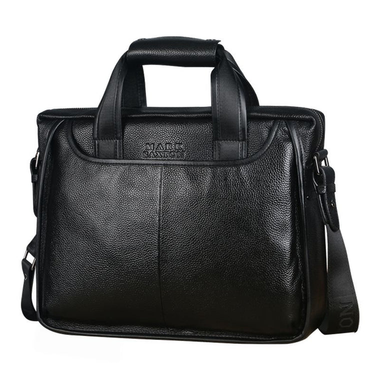 Mens Commercial Vintage Style Briefcase - URBAN LEGEND LEATHER