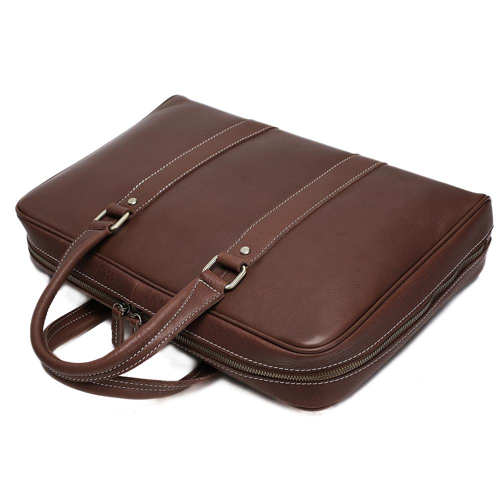 Leather Vintage Briefcase - URBAN LEGEND LEATHER