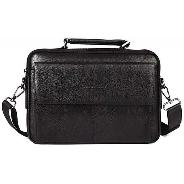 Mens Leather Crossbody Carrier