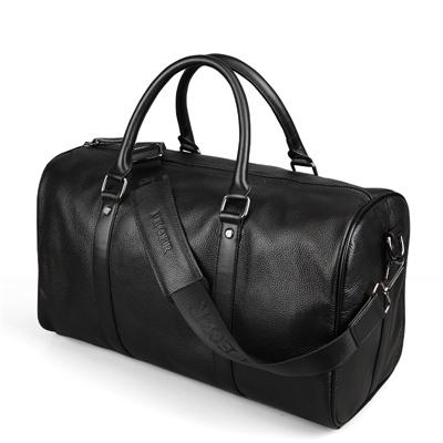 Large Leather Weekend/Duffel/Overnight Bag With Leather Strap - URBAN LEGEND LEATHER
