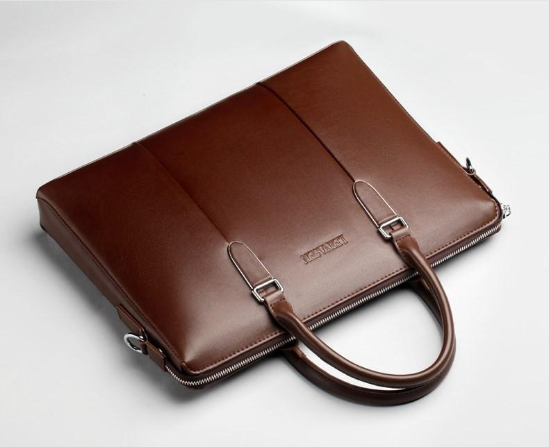 "17"" Mens Leather Brief/Document Case - URBAN LEGEND LEATHER"