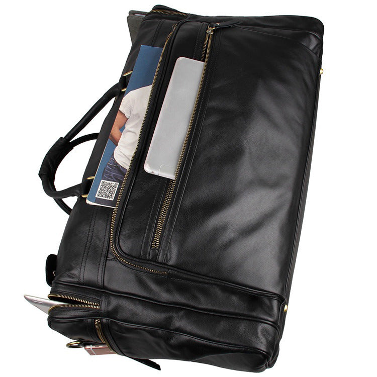 Men's Leather Duffle Travel Bag - URBAN LEGEND LEATHER
