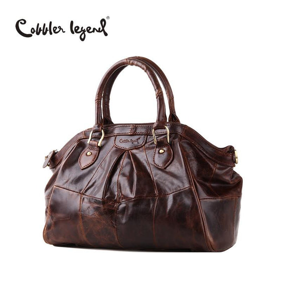 Cobbler Legend Women's Shoulder Retro Leather Handbag - URBAN LEGEND LEATHER