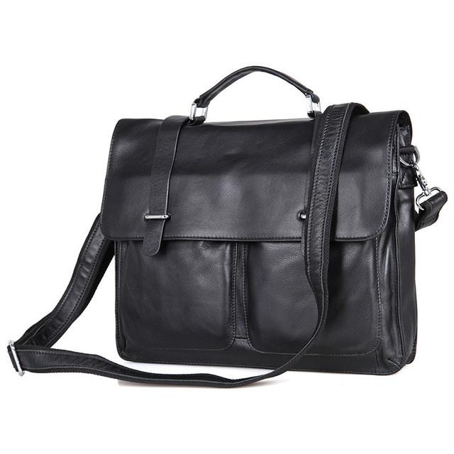 Mens Leather Case/Messenger Bag - URBAN LEGEND LEATHER