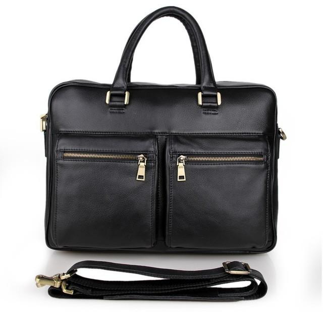 Mens Leather Brief Bag - URBAN LEGEND LEATHER