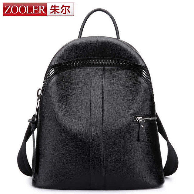 Womens Preppy Style Backpack - URBAN LEGEND LEATHER