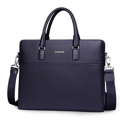 Padieoe Luxury Mens Briefcase With Removable Shoulder Strap - URBAN LEGEND LEATHER