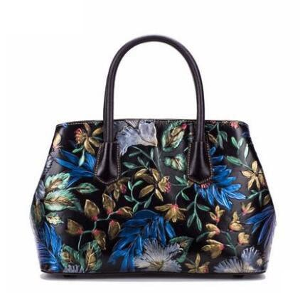 Chinese Style Ladies Leather Handbag - URBAN LEGEND LEATHER
