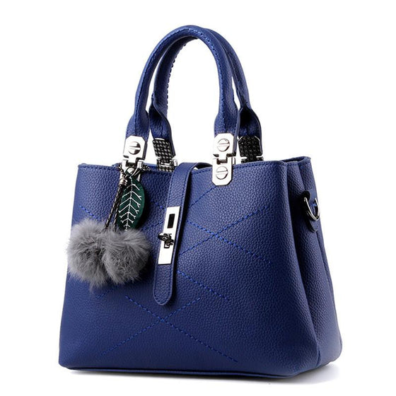 Ladies Lucky Leather Tote Bag