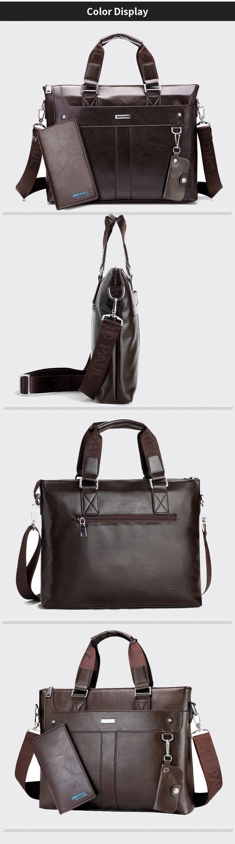 Mens Leather Business Carrier - URBAN LEGEND LEATHER