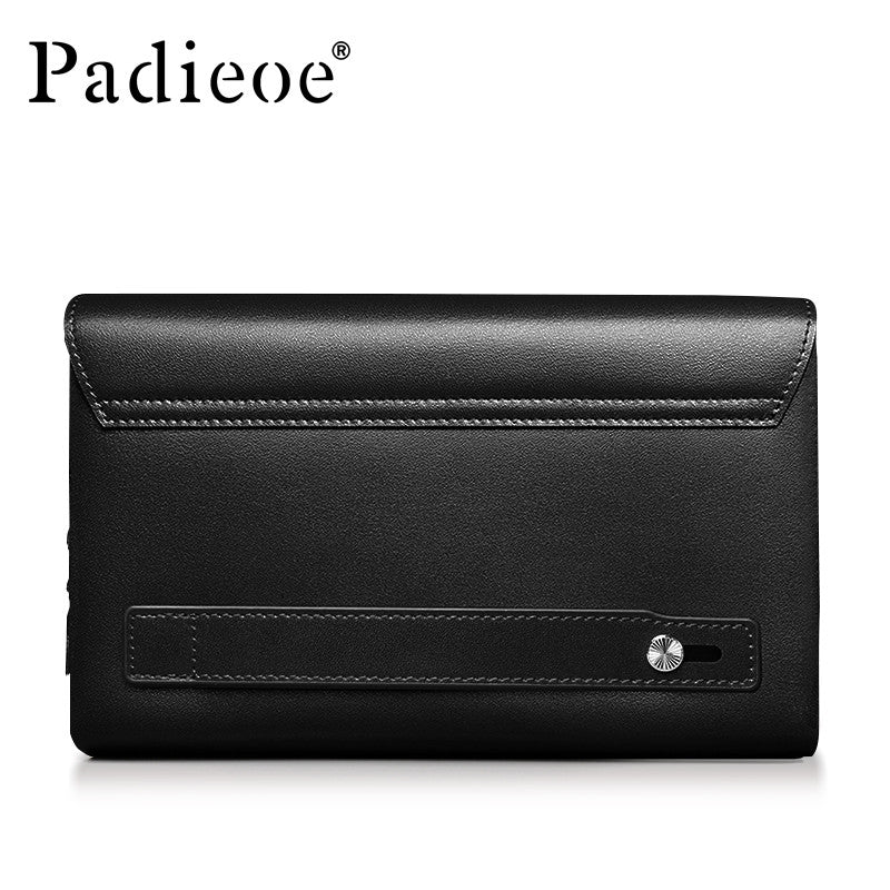 Mens Multi-function Business Wallets Double Zipper - URBAN LEGEND LEATHER