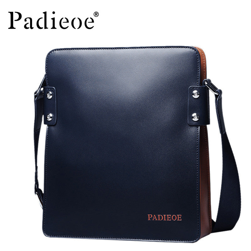 Padieoe Mens Leather Business Messenger Bag - URBAN LEGEND LEATHER