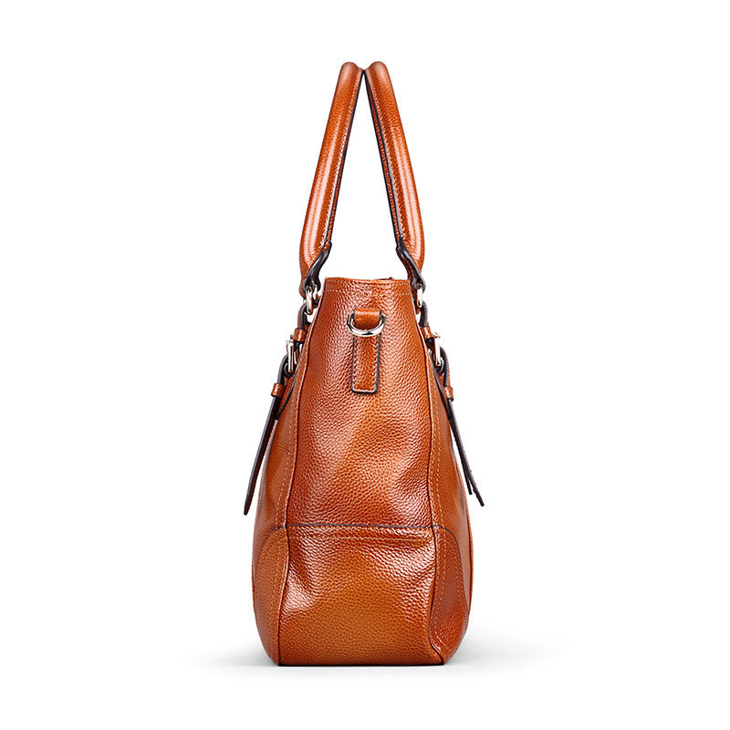Women's Leather Tote Handbag - URBAN LEGEND LEATHER