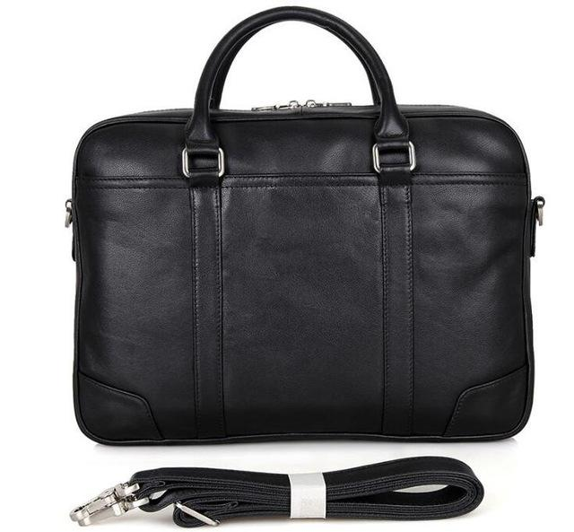 Full Grain Leather Briefcase 15 Inches Laptop Bag - URBAN LEGEND LEATHER