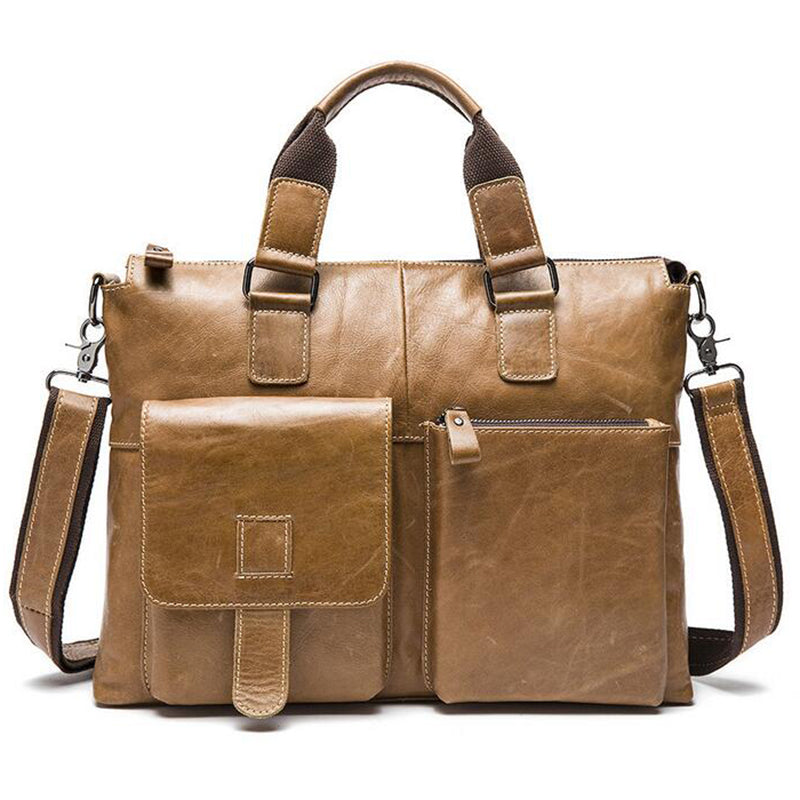 Mens Leather High Quality Shoulder Bag - URBAN LEGEND LEATHER