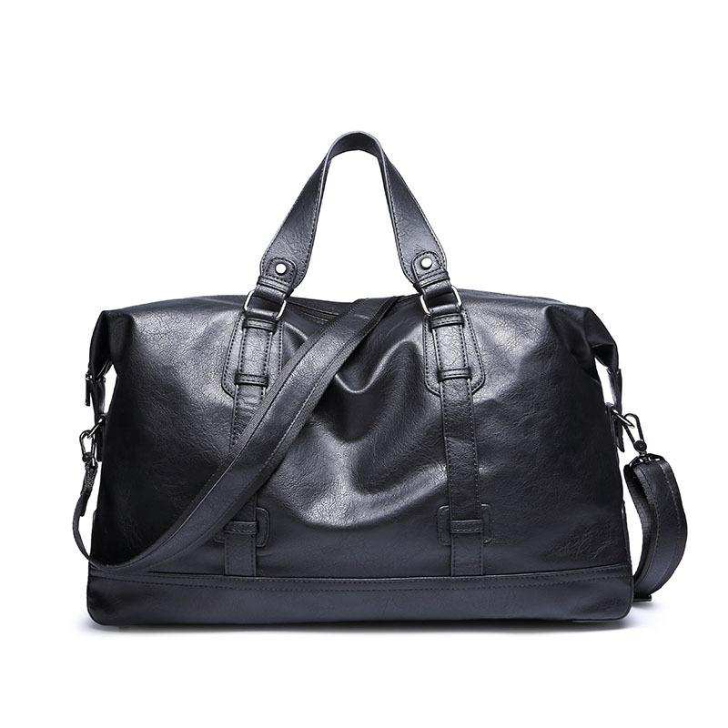 Large Capacity Leather Travel/Duffel/Overnight Bag - URBAN LEGEND LEATHER