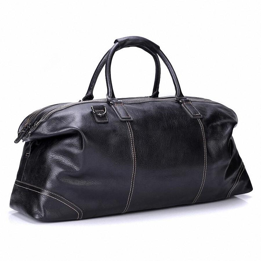 Leather Travel Weekend Overnight Bag - URBAN LEGEND LEATHER