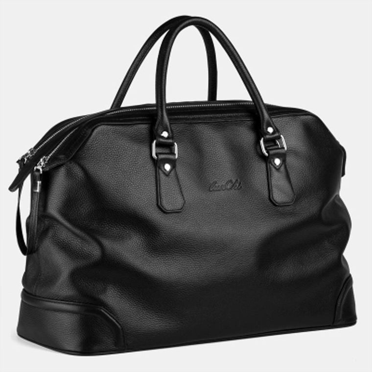 Leather Luggage/Overnight/Weekend  Bag With Shoulder Strap - URBAN LEGEND LEATHER