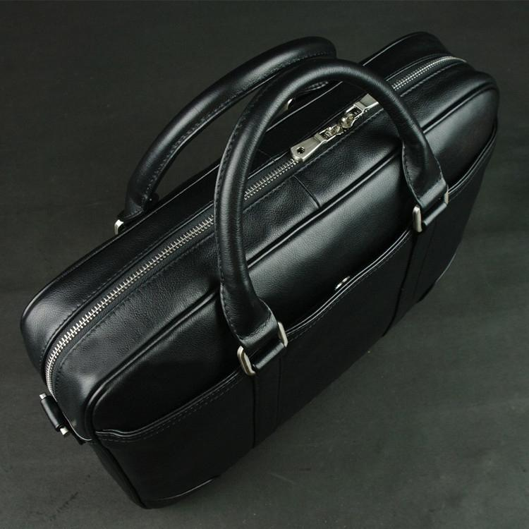 Full Grain Leather Briefcase 15 Inches Laptop Bag