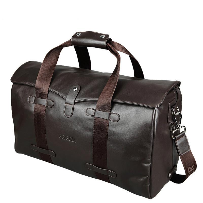 Leather Travel Overnight Duffel Bag/Weekend Bag - URBAN LEGEND LEATHER