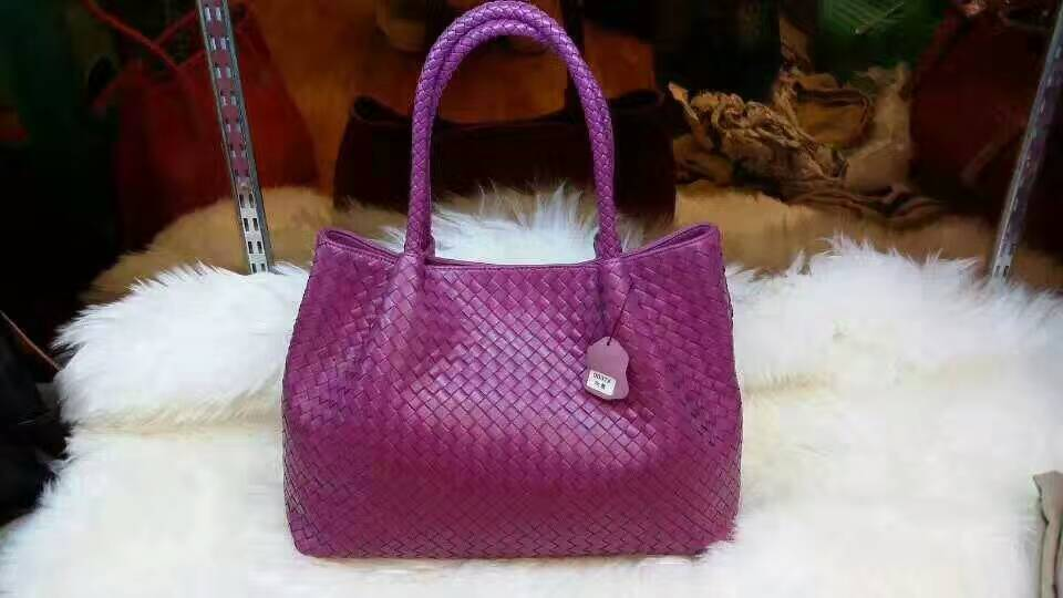 Women's Shoulder Style Woven Leather Tote For Women - URBAN LEGEND LEATHER