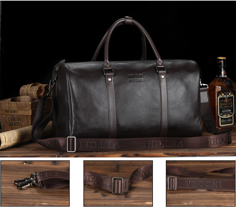 Mens Luxury Vintage Leather Travel Bag - URBAN LEGEND LEATHER