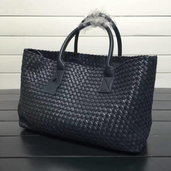 Woven Tote Leather Bag - URBAN LEGEND LEATHER
