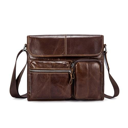 Mens Leather Men's Shoulder Bag - URBAN LEGEND LEATHER