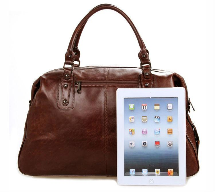 Leather Travel Luggage Overnight Weekend Bag - URBAN LEGEND LEATHER
