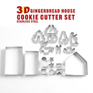 Club Dresses | Club Outfits | Party Dresses 3D CHRISTMAS Cookie Cutter Set Snowman, Christmas Tree, Deer, Sled And Gingerbread House, 3D CHRISTMAS Cookie Cutter Set Snowman, Christmas Tree, Deer, Sled And Gingerbread House - Clubbing Love