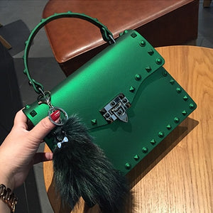 Club Dresses | Club Outfits | Party Dresses Designer Jelly Bag PU Leather Handbags, Stylish Candy Jelly Bag - Clubbing Love