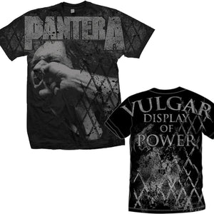 Pantera | Vulger Allover T-Shirt