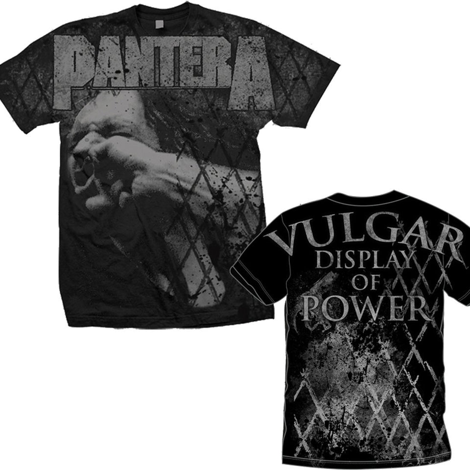 Club Dresses | Club Outfits | Party Dresses T-Shirt, Pantera | Vulger Allover T-Shirt - Clubbing Love
