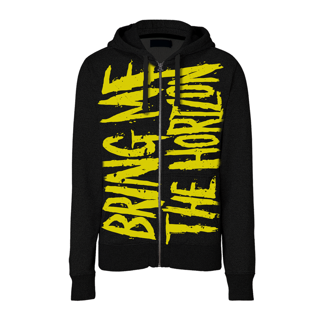 Club Dresses | Club Outfits | Party Dresses , Bring Me The Horizon | Allover Logo Zip Hoodie - Clubbing Love