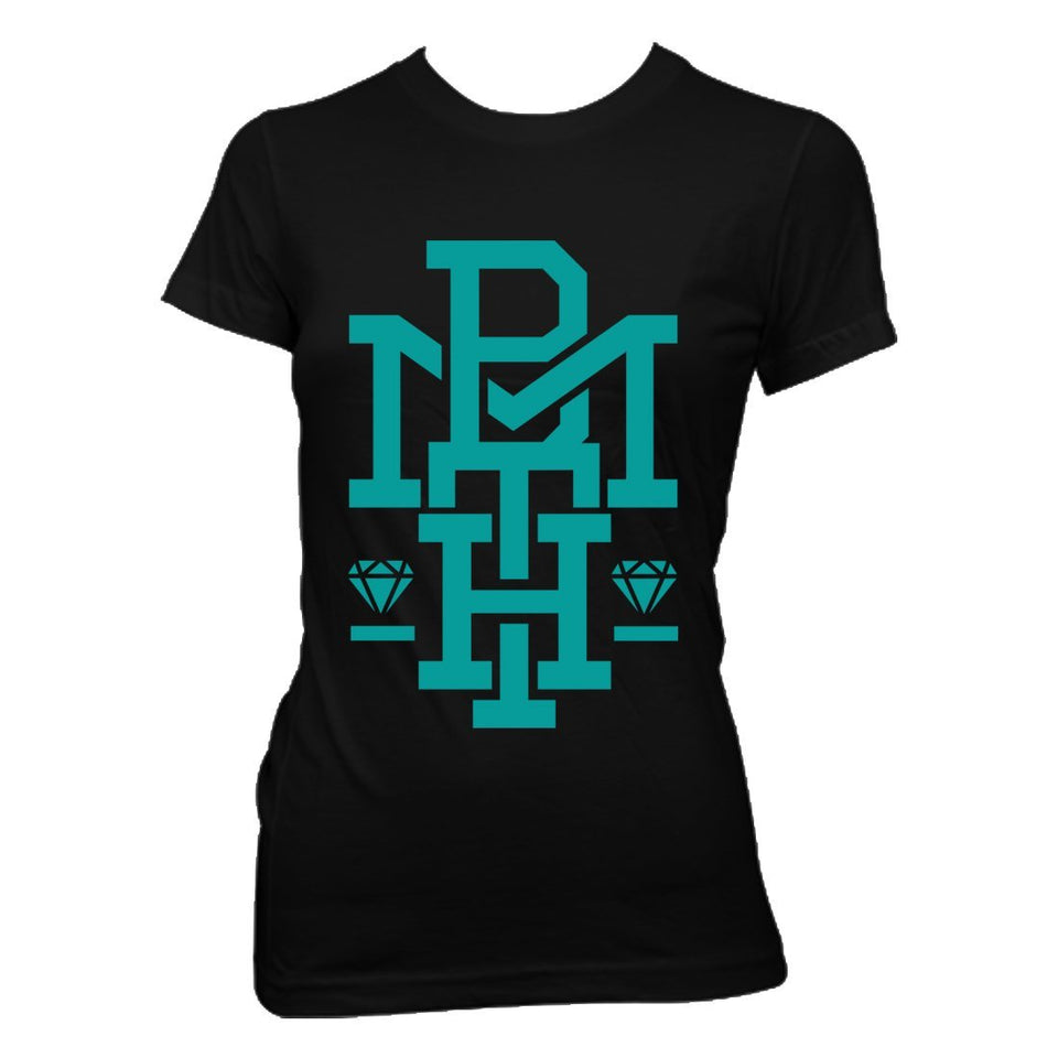 Club Dresses | Club Outfits | Party Dresses T-Shirt, Bring Me The Horizon | Diamond Turquoise T-Shirt - Clubbing Love