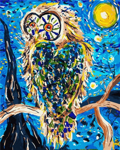 Club Dresses | Club Outfits | Party Dresses Owl Acrylic Paint By Numbers, Owl Acrylic Paint By Numbers - Clubbing Love