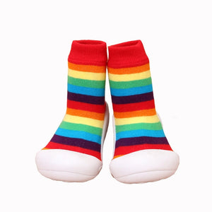 Club Dresses | Club Outfits | Party Dresses Rainbow Sneakers Baby First Walker Anti-Slip, Rainbow Sneakers Baby First Walker Anti-Slip - Clubbing Love