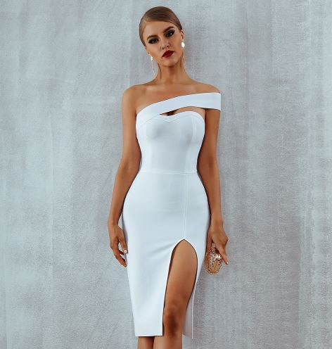 Club Dresses | Club Outfits | Party Dresses dresses, Bodycon Bandage Dress One Shoulder - Clubbing Love