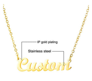 Club Dresses | Club Outfits | Party Dresses Name Necklace, Clubbing Love ™️ Celebrity Name Necklace - Clubbing Love