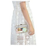 Club Dresses | Club Outfits | Party Dresses Clear Acrylic Box Clutch Bag, Clear Acrylic Box Clutch Bag Crossbody Purse Evening Bag - Clubbing Love