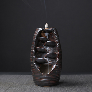 Club Dresses | Club Outfits | Party Dresses Ceramic Waterfall Backflow Incense Burner, The Waterfall by Clubbing Love ™️ - Clubbing Love