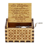 Club Dresses | Club Outfits | Party Dresses Wooden Music Box, Mom To Daughter - You Are Loved More Than You Know - Engraved Music Box 💖👩‍👧 💖 - Clubbing Love